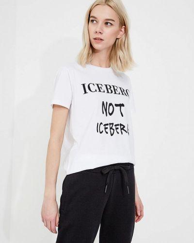 Белая толстовка Iceberg