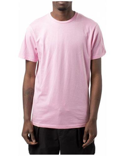 Różowy t-shirt Colorful Standard