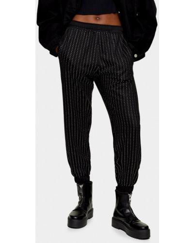 Спортивные брюки - черные Topshop