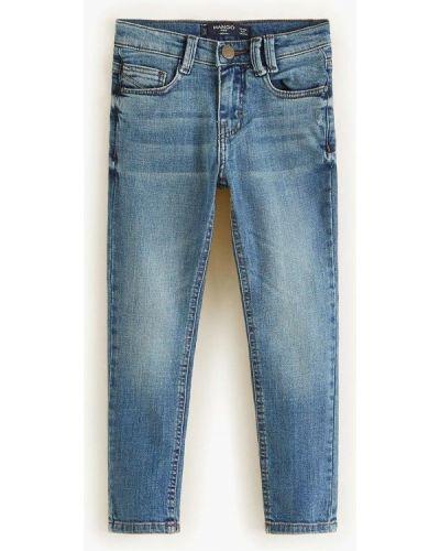 Синие джинсы Mango Kids