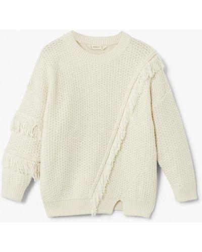 Бежевый свитер Mango Kids