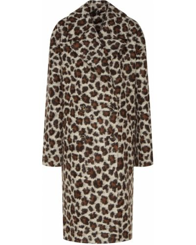 Пальто леопардовый с принтом Akhmadullina Dreams