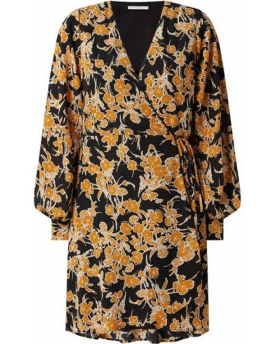 Czarna sukienka z dekoltem w serek Freebird