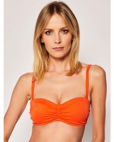 Pomarańczowy bikini Triumph