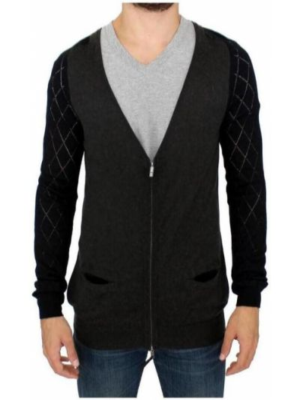 Sweter z zamkiem błyskawicznym Costume National