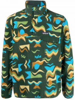 Пуловер короткий - зеленый Patagonia