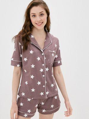 Пижамная фиолетовая домашняя пижама Rene Santi