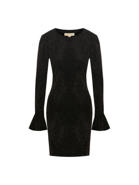 Платье мини приталенное с оборками Michael Michael Kors