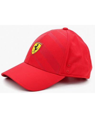 Красный головной убор Puma