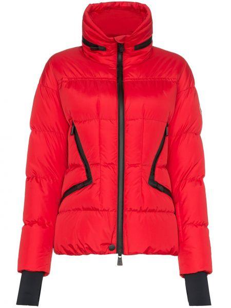 Спортивная куртка на молнии красная Moncler Grenoble