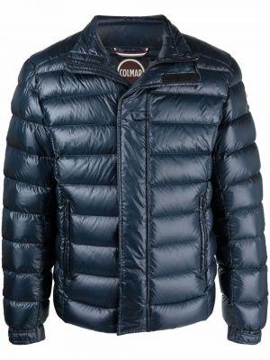 Синяя куртка с заплатками Colmar