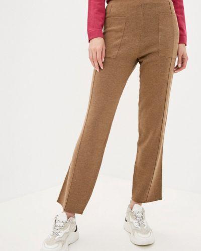 Повседневные коричневые брюки Rodier