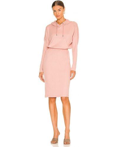 Вечернее платье миди - розовое Bcbgeneration
