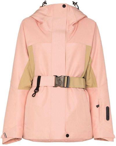 Спортивная розовая спортивная куртка Moncler Grenoble
