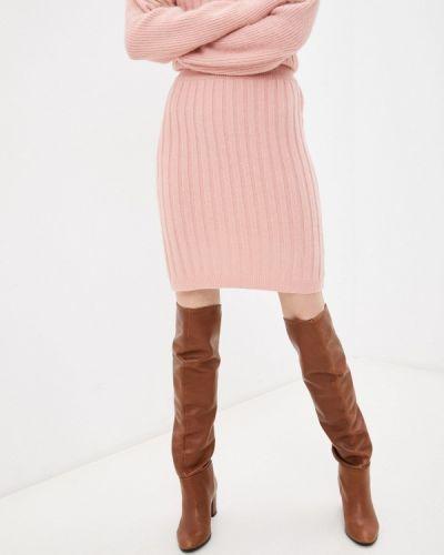Зауженная юбка - розовая By Swan