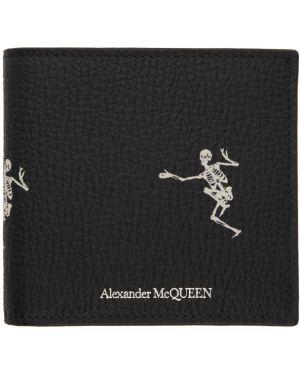 Кошелек текстильный белый Alexander Mcqueen
