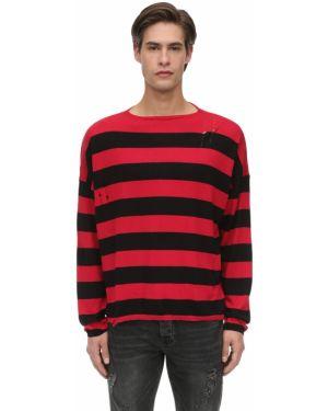 Prążkowany z kaszmiru sweter Other