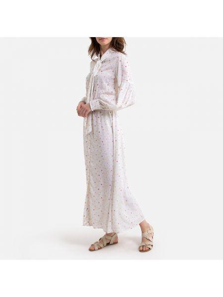 Платье с поясом винтажная на пуговицах La Redoute