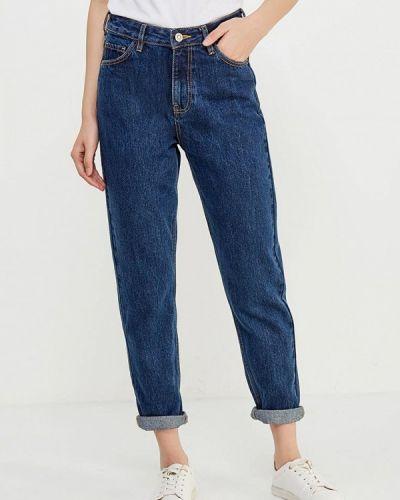Синие джинсы бойфренды Mango