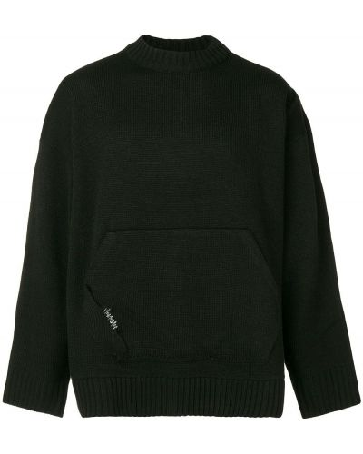 Шерстяной свитер - черный Ader Error