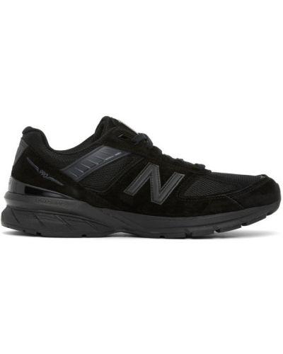Кожаные белые кроссовки на каблуке New Balance