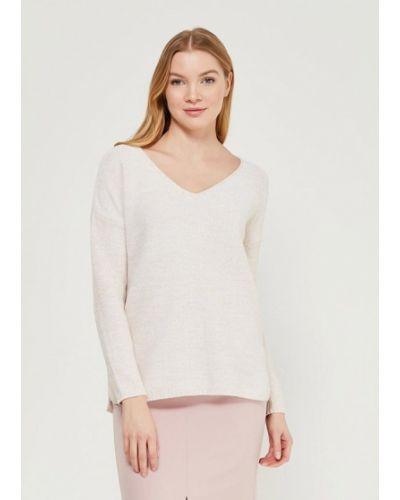Бежевый пуловер Zarina