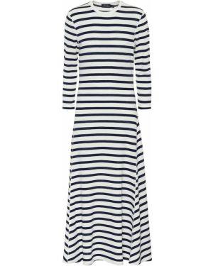 Платье миди в полоску повседневное Polo Ralph Lauren
