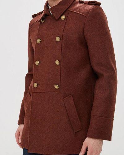Пальто коричневый Elijah & Sims