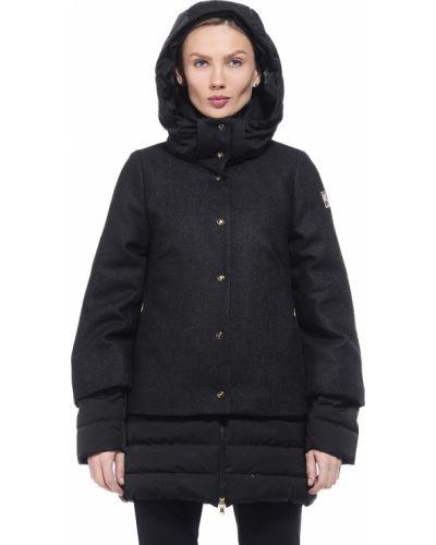 Куртка осенняя черная Geospirit