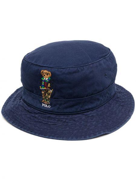 Bawełna bawełna niebieski koszulka polo z haftem Polo Ralph Lauren