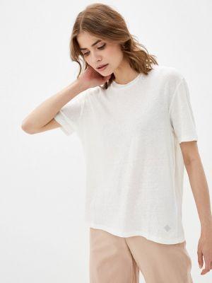 Бежевая футболка с короткими рукавами Replay