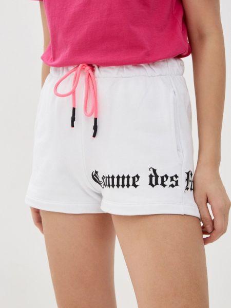 Повседневные белые шорты Comme Des Fuckdown
