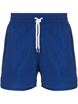 Niebieskie spodenki sportowe bawełniane Frescobol Carioca