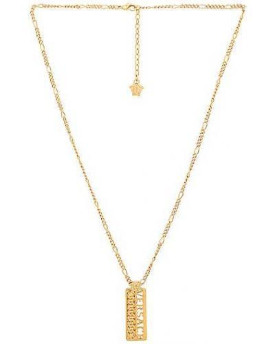 Złoty naszyjnik łańcuch Versace