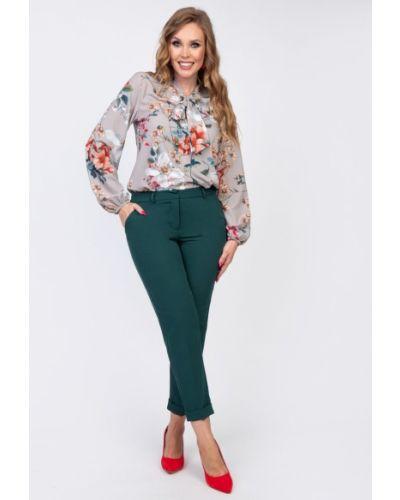 Брючные брюки с карманами с низкой посадкой Diolche