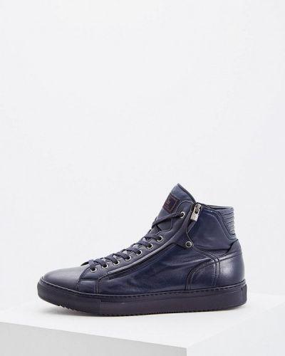 Синие высокие кроссовки Fabi