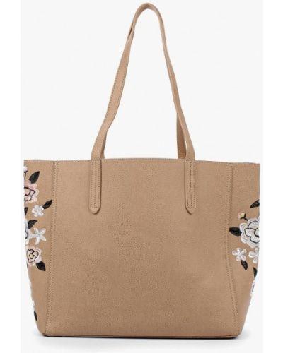Розовая сумка шоппер Dorothy Perkins