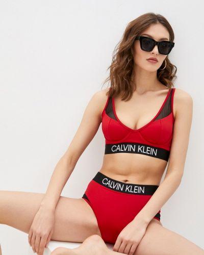 Красные плавки-боксеры Calvin Klein Underwear