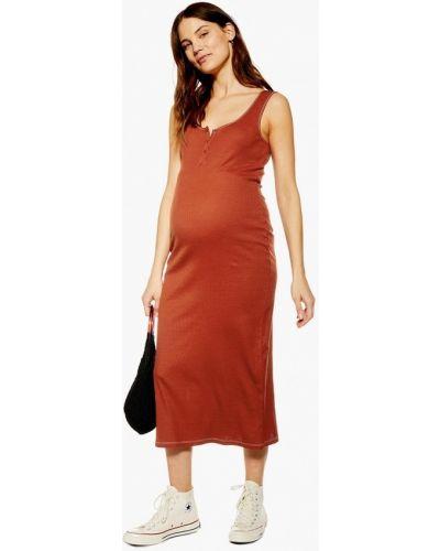 Платье для беременных осеннее турецкий Topshop Maternity