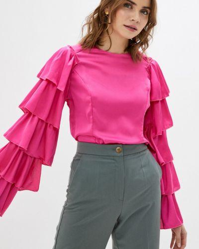 Розовая с рукавами блузка Tantra