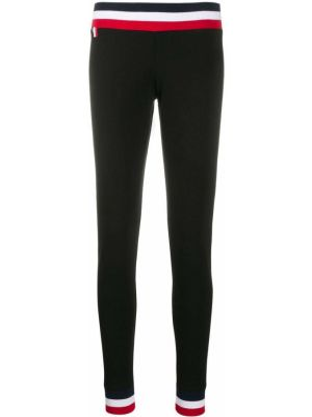 Черные брюки с поясом Rossignol
