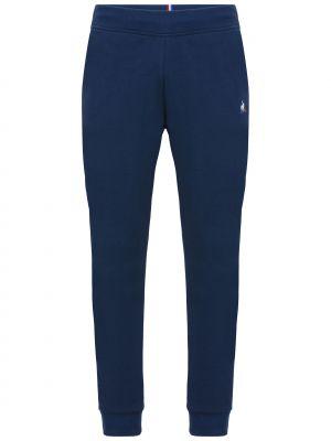 Спортивные брюки из полиэстера - синие Le Coq Sportif