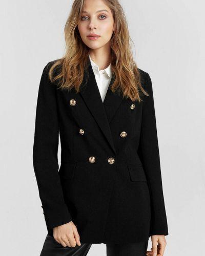 Черный пиджак O'stin