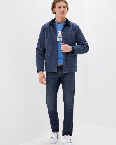 Облегченная синяя куртка Gap