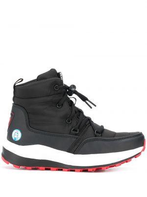 Ботинки на шнуровке - черные Rossignol