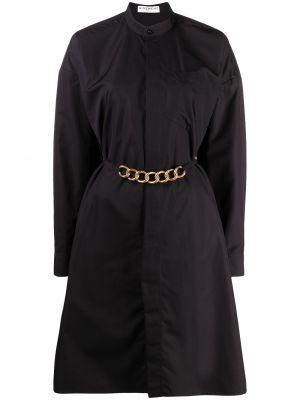 Złota sukienka długa - czarna Givenchy