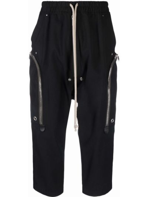 Spodnie skorzane - czarne Rick Owens