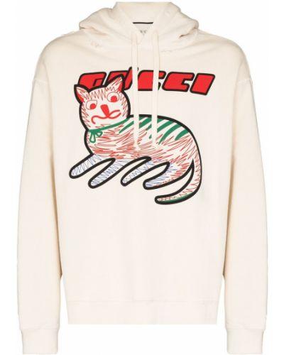 Beżowa bluza z długimi rękawami Gucci