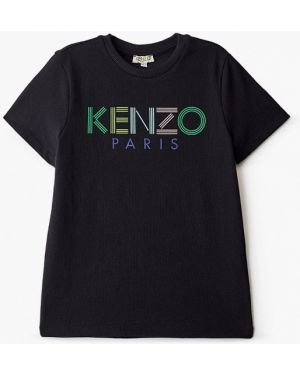 Черная футболка Kenzo