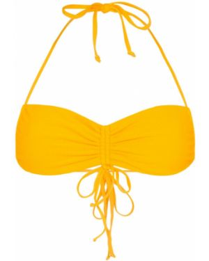 Желтые нейлоновые бикини Frankies Bikinis